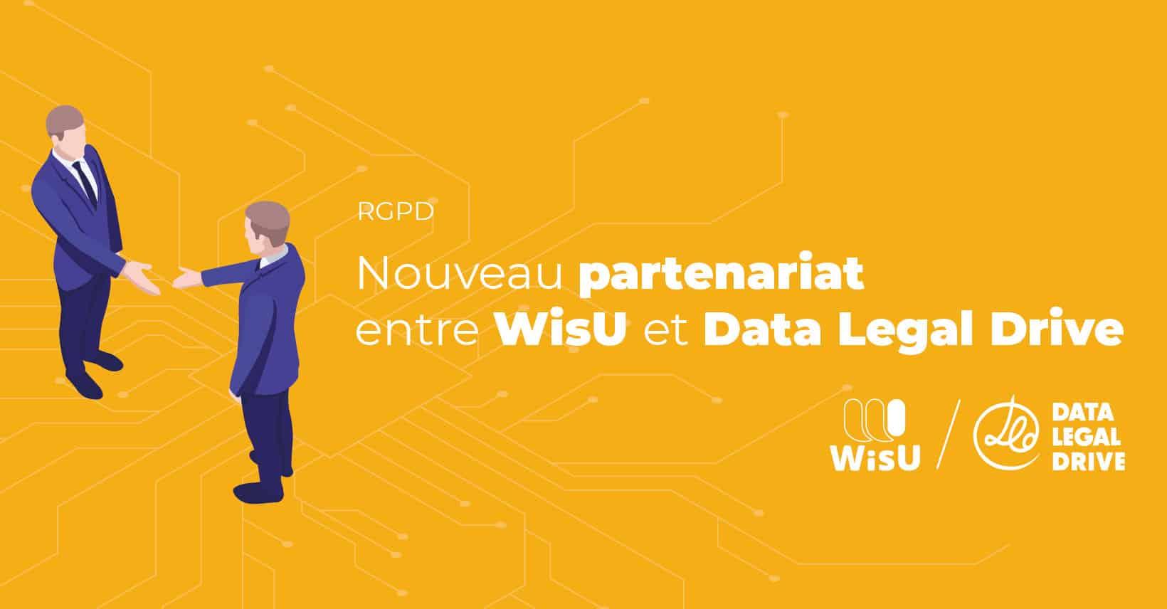Partenariat Wisu Data Legal Drive